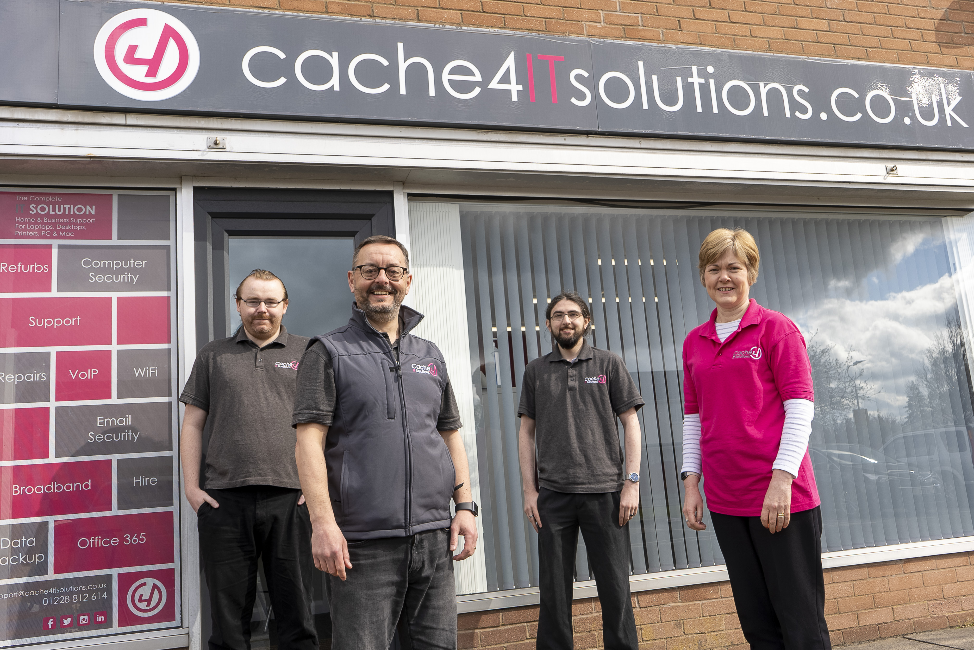 IT Sales and Repairs in Carlisle - Cache4 IT Solutions